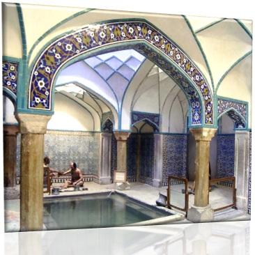 پاورپوینت بررسی حمام های سنتی ایران