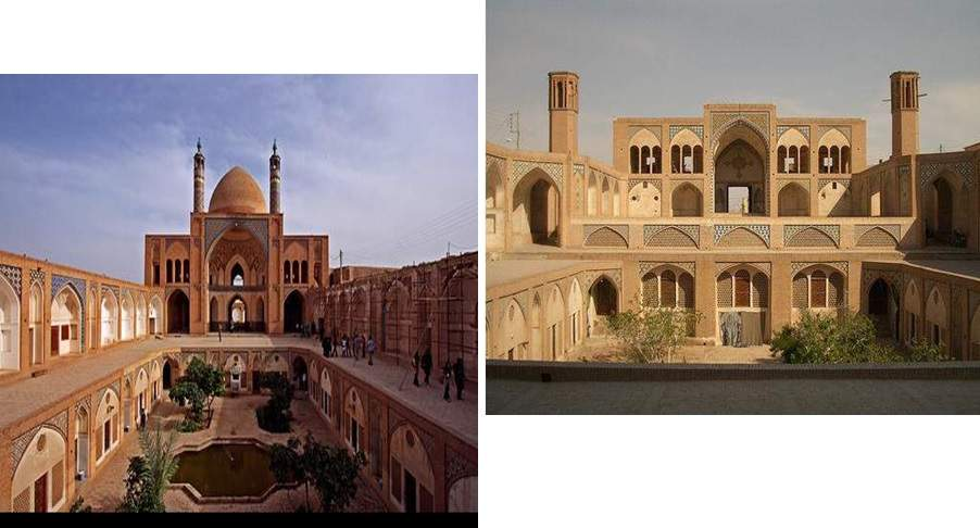 پاورپوینت بررسی مدرسه و مسجد آقا بزرگ